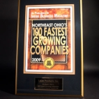2009 Northeast Ohio's Fastest Growing Companies