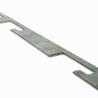 Lock Plate for Cable Guard Rails
