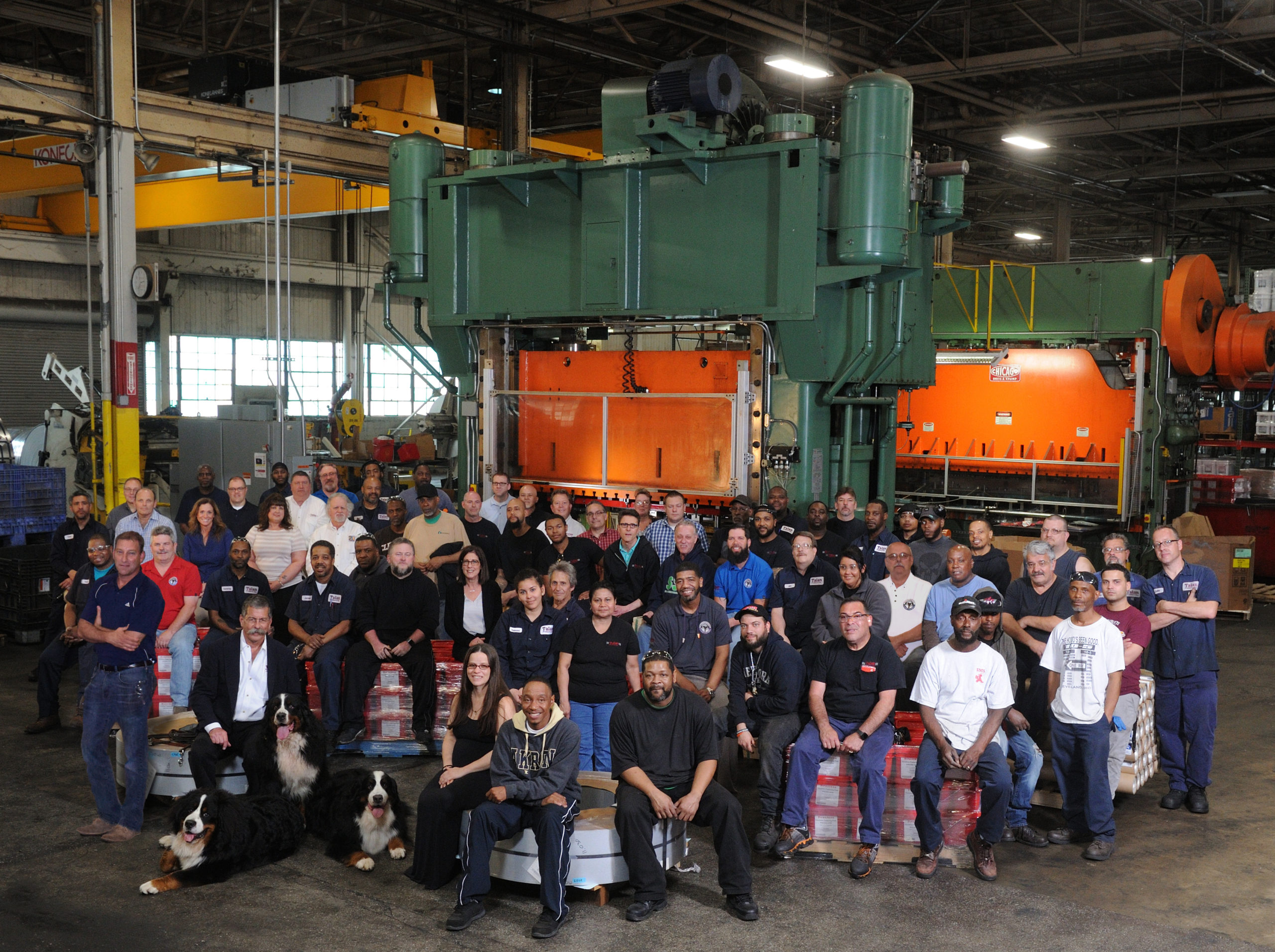 Talan Products Group Photo